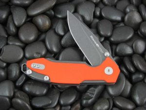 Viper Cutlery Storm with Orange G10 handles V5954DGO