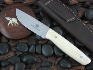 Arno Bernard Pro Hunter Wildebeest Polished N690 Warthog Tusk 6301