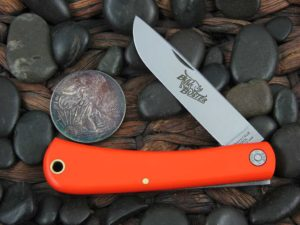 Great Eastern Cutlery Bull Buster Sodbuster Farm & Field Orange Delrin 215118