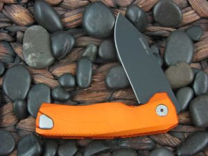 LionSteel Knives ROK with Orange Aluminum frame ROK AOB