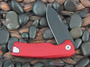 LionSteel Knives ROK with Red Aluminum frame ROK ARB