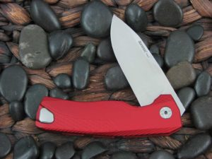 LionSteel Knives ROK with Red Aluminum frame ROK ARS