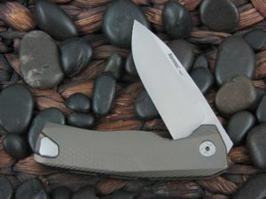 LionSteel Knives ROK with Bronze Titanium frame ROK B