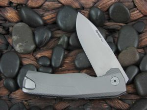 LionSteel Knives ROK with Titanium frame ROK G
