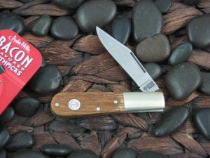 Boker Cutlery Barlow with Whiskey Barrel Wood handles 110493TWB