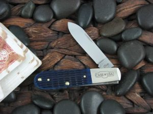 Case Knives Barlow Blue Jigged Bone TruSharp CA02867