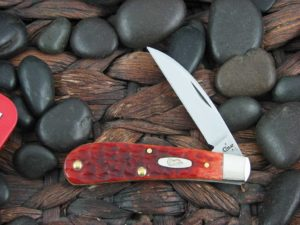 Case Knives Swayback Jack with Chestnut Bone handles CA07018