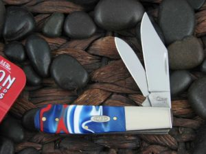 Case Knives Barlow with Patriotic Kirinite handles CA11217