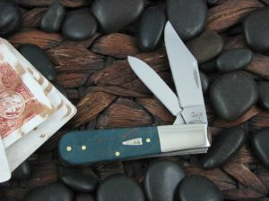 Case Knives Barlow Turquoise Curly Maple Wood TruSharp CA23362