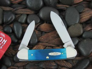Case Knives Canoe with Caribbean Sawcut Bone handles CA25598