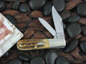 Case Knives Barlow BoneStag Bone TruSharp CA65316