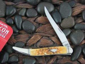 Case Knives Medium Toothpick with Burnt Amber Bone handles CA80257