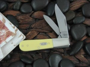 Case Knives Barlow Yellow Synthetic TruSharp CA81092