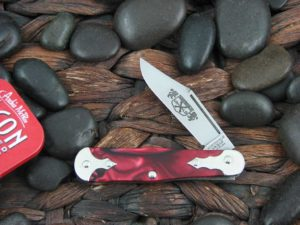 Great Eastern Cutlery Satin Pemberton Jack Northfield Red Acrylic Templar 061119