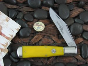 Great Eastern Cutlery Allegheny Large Coke Bottle Northfield Smooth Yellow Bone 971119