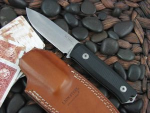 lionSteel B40 with Black G10 handles Bushcraft