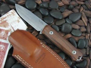lionSteel B40 with Santos Wood handles Bushcraft