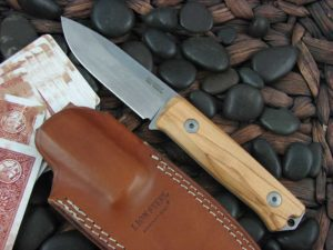 lionSteel B40 with Olive Wood handles Bushcraft