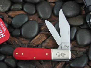 Case Knives Barlow with Smooth Red Bone handles CA60543