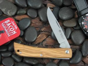 Maserin Cutlery Plow Sodbuster with Olive Wood handles 163