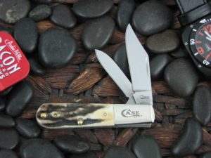 Case Knives Barlow with Prime Stag handles CA12397