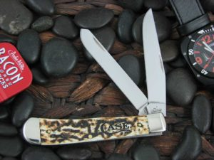 Case Knives Trapper with Natural Toasted Bone handles CA67910