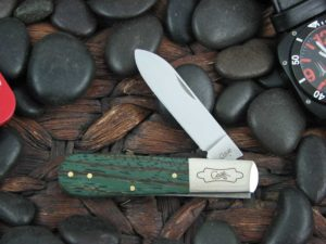 Case Knives Barlow with Green Zebra Wood handles CA70522