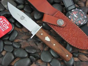 Great Eastern Cutlery H30 with Antiqued Cherry Wood handles