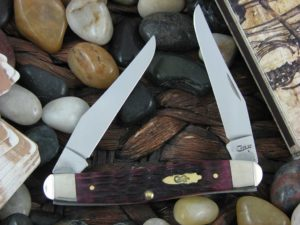 Case Knives Muskrat with Cabernet Bone handles CA25725