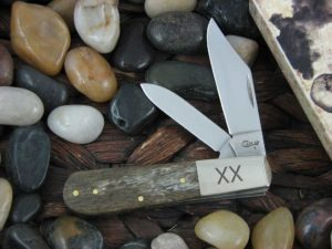 Case Knives Barlow with Smooth Brown Giraffe Bone handles CA25082