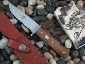 Great Eastern Cutlery H40 with Antiqued Cherry Wood handles
