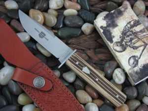 Great Eastern Cutlery H40 Satin 1095 Woodland Muslin Hunter