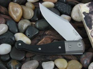 lionSteel Jack with Titanium Bolsters Black G10 handles GT01GBK