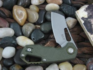 MKM Fox Voxnaes Isonozo with Green FRN handles MKFX03-2PGR