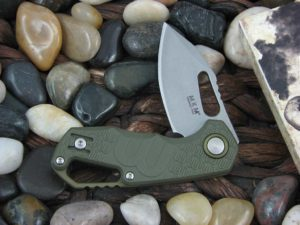 MKM Fox Voxnaes Isonzo with Green FRN handles MKFX03-3PGR