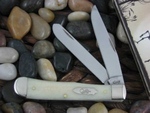 Case Knives Trapper with Natural Bone handles CA13050