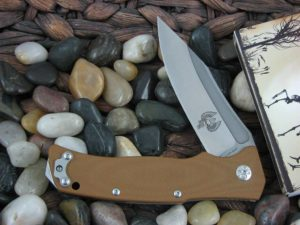 Maserin Nicolai Lilin Reactor with Brown G10 handles 681G10M
