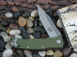 Maserin Nicolai Lilin Reactor with Green G10 handles 681G10V