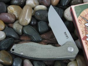 MKM Viper Voxnaes Timavo with OD Canvas Micarta handles MKVP02GC
