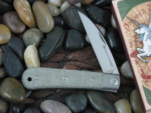Viper Knives Swayback Jack with OD Canvas Micarta handles VPCK0616CV