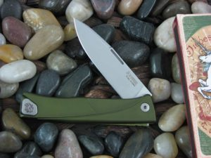 lionSteel Thrill with Green Anodized Aluminum frame TLAGS