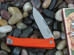 lionSteel Thrill with Orange Anodized Aluminum frame TLAOS