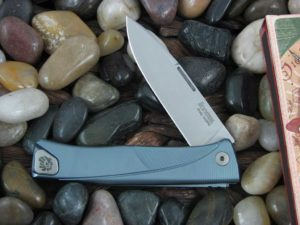 lionSteel Thrill with Blue Anodized Titanium frame TLBL