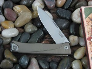 lionSteel Thrill with Bronze Anodized Titanium frame TLBR