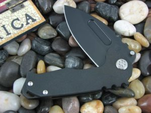 Medford Genesis G PVD Drop Point Blade Black G10 Handle