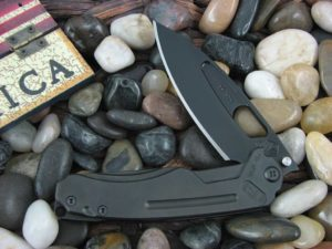 Medford Infraction PVD Drop Point Blade PVD Ti Handle