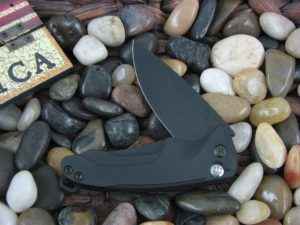 Medford Smooth Criminal PVD Standard Blade Black Aluminum Handle