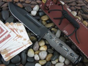 Medford Knife USMC with Multi G10 handles Fighter