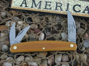 Great Eastern Cutlery Pocket Carver Whittler Farm & Field Natural Linen Micarta 620320