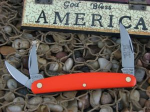 Great Eastern Cutlery Pocket Carver Whittler Farm & Field Orange Delrin 620320